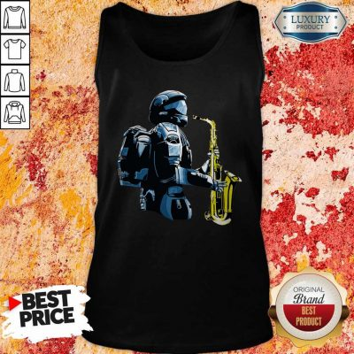 Perfect Halo 3 Odst Saxophone Tank Top