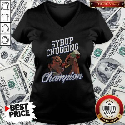 Perfect Syrup Chugging Champion V-neck