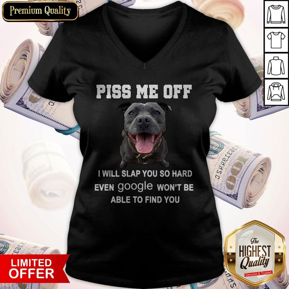 Premium Pitbull Piss Me Off V-neck
