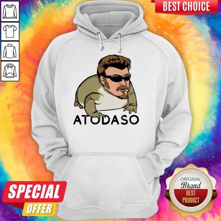 Pretty Atodaso Face Hoodie
