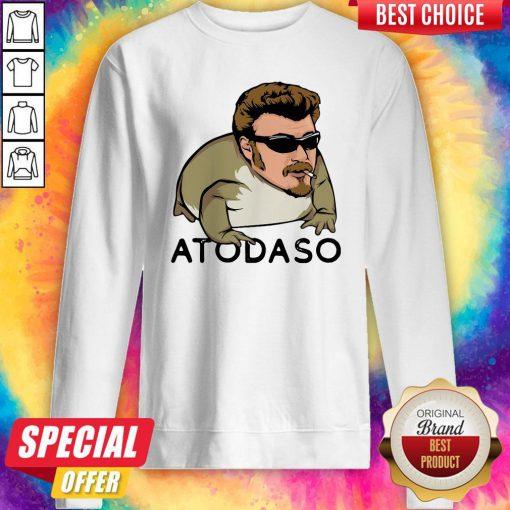 Pretty Atodaso Face Sweatshirt