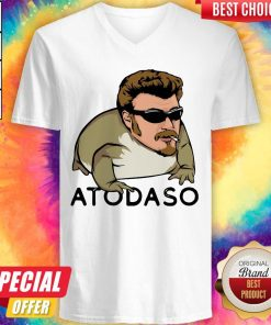Pretty Atodaso Face V-neck