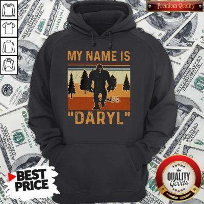 Pretty My Name Is Daryl Vintage Hoodie