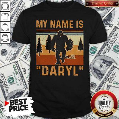 Pretty My Name Is Daryl Vintage Shirt