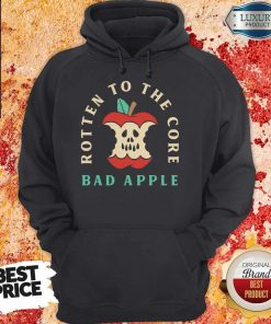 Pretty Rotten To The Core Bad Apple Hoodie