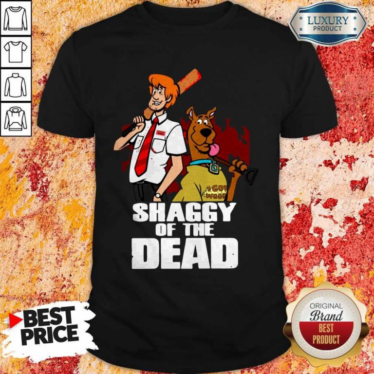 Pretty Scooby Doo Shaggy Of The Dead Shirt