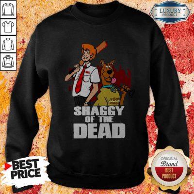 Pretty Scooby Doo Shaggy Of The Dead Sweatshirt