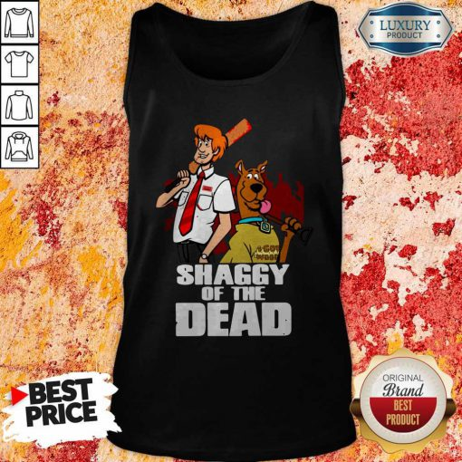 Pretty Scooby Doo Shaggy Of The Dead Tank Top