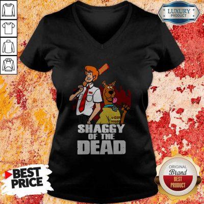 Pretty Scooby Doo Shaggy Of The Dead V-neck