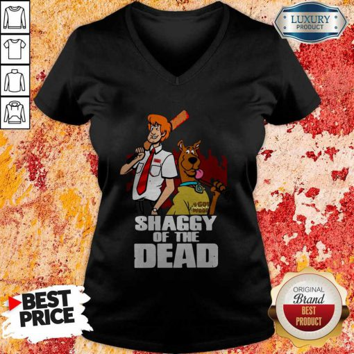 Pretty Scooby Doo Shaggy Of The Dead V-neck