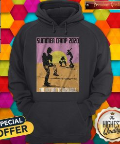 Pretty Summer Camp 2020 Baseball Hoodie
