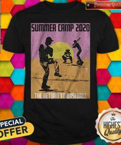Pretty Summer Camp 2020 Baseball Shirt