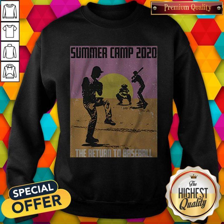 Pretty Summer Camp 2020 Baseball Sweatshirt
