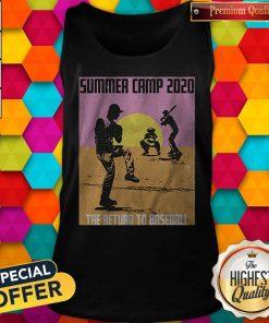 Pretty Summer Camp 2020 Baseball Tank Top