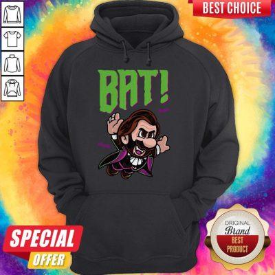 Top Dracula Bat Hoodie