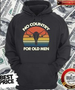 Top No Country For Old Men Vintage Hoodie