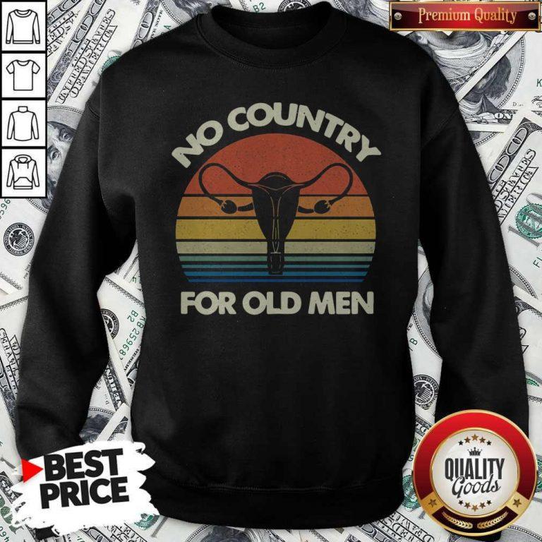 Top No Country For Old Men Vintage Sweatshirt