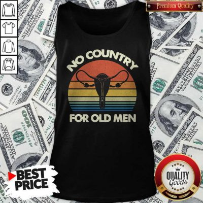 Top No Country For Old Men Vintage Tank Top