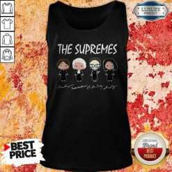 Top The Supremes The Golden Girls Tank Top