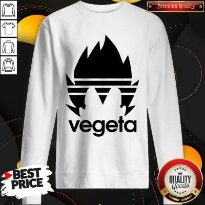 Top Vegeta Adidas Sweatshirt