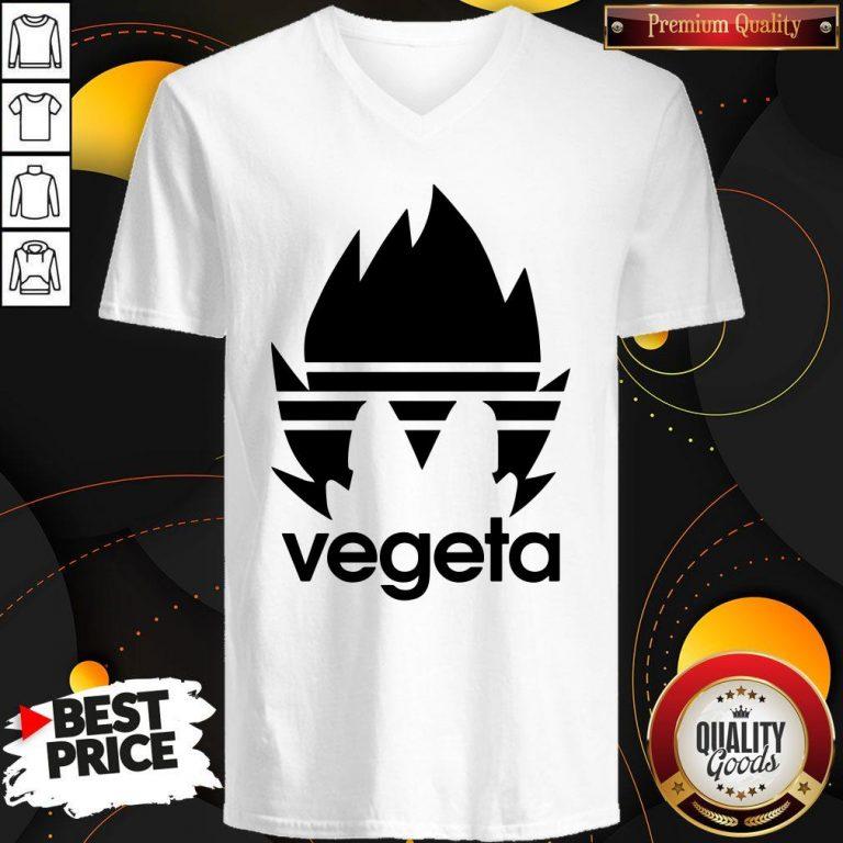 Top Vegeta Adidas V-neck