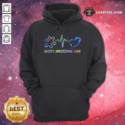 Original Accept Understand Love Autism Hoodie - Design By Earstees