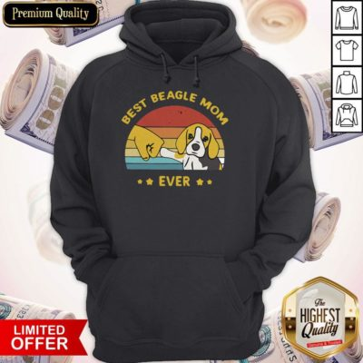 Perfect Best Beagle Mom Ever Vintage Hoodie - Design By Earstees.com