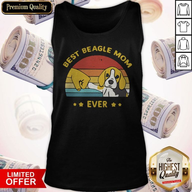 Perfect Best Beagle Mom Ever Vintage Tank Top - Design By Earstees.com