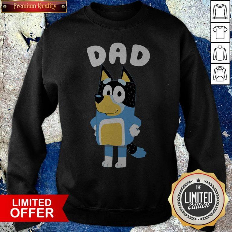 Premium Bluey Dad Sweatshirt