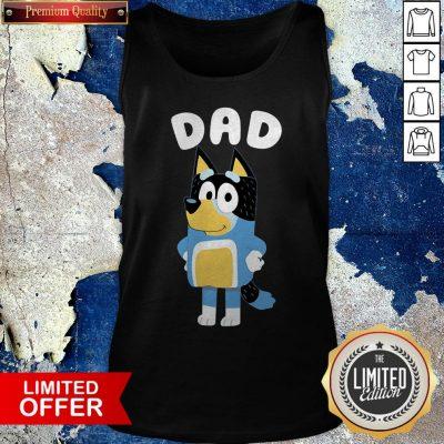 Premium Bluey Dad Tank Top
