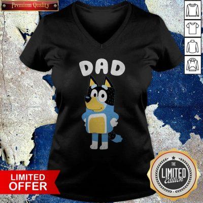 Premium Bluey Dad V-neck