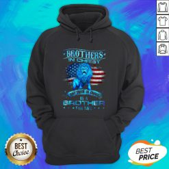 Brothers In Christ Brother In Christ Is A Brother For Life Hoodie