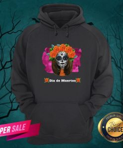 Day Of Dead Dia De Muertos Sugar Skull Girl Hoodie
