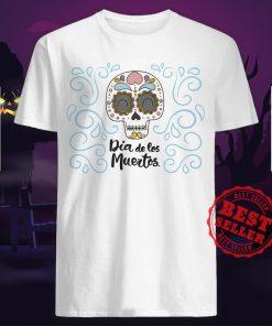 Dia De Los Muertos Day Dead Sugar Skull Smile Shirt
