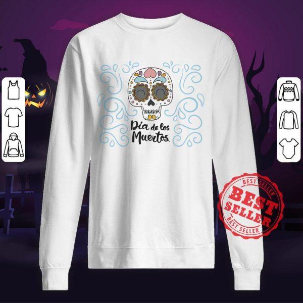 Dia De Los Muertos Day Dead Sugar Skull Smile Sweatshirt