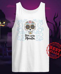 Dia De Los Muertos Day Dead Sugar Skull Smile Tank Top