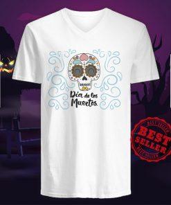 Dia De Los Muertos Day Dead Sugar Skull Smile V-neck