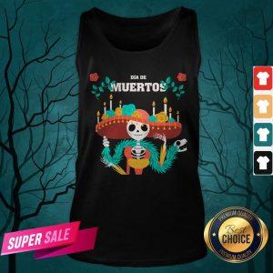 Dia De Muertos Day Dead Skeleton In Mexican Tank Top