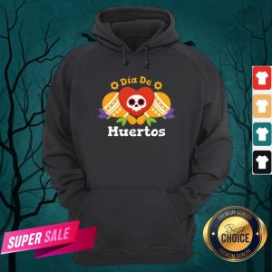 Dia De Muertos Day Dead Sugar Skull Hoodie