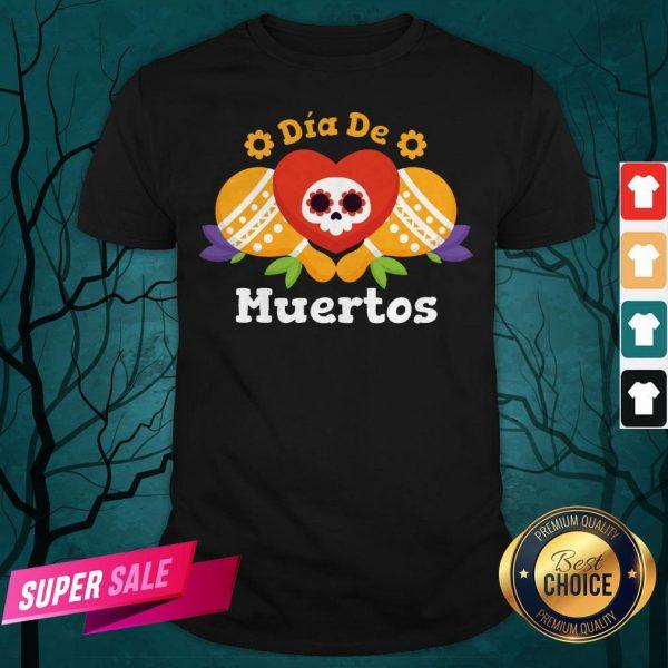 Dia De Muertos Day Dead Sugar Skull Shirt
