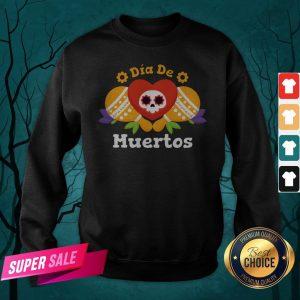 Dia De Muertos Day Dead Sugar Skull Sweatshirt