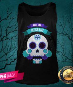 Dia De Muertos Day Of Dead Sugar Skull Tank Top