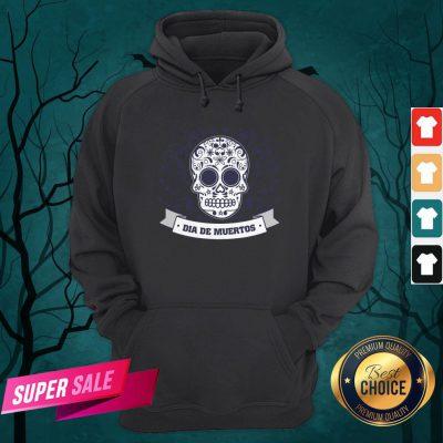 Dia De Muertos Day Of Dead Sugar Skull Vintage Hoodie