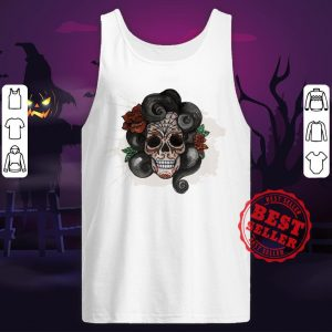 Dia De Muertos Woman Sugar Skull Tank Top