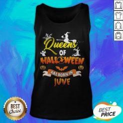 Good Queen Of Halloween Are Born In June Tank Top