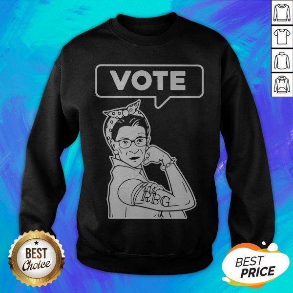Good RIP RBG Ruth Bader Ginsburg VOTE Sweatshirt