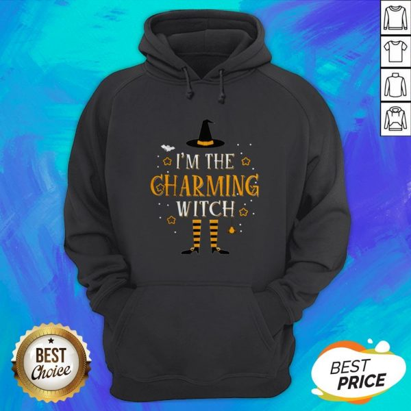 I'm The Charming Witch Halloween Matching Group Costume Hoodie
