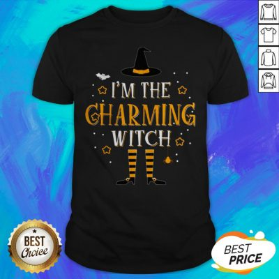 I'm The Charming Witch Halloween Matching Group Costume Shirt