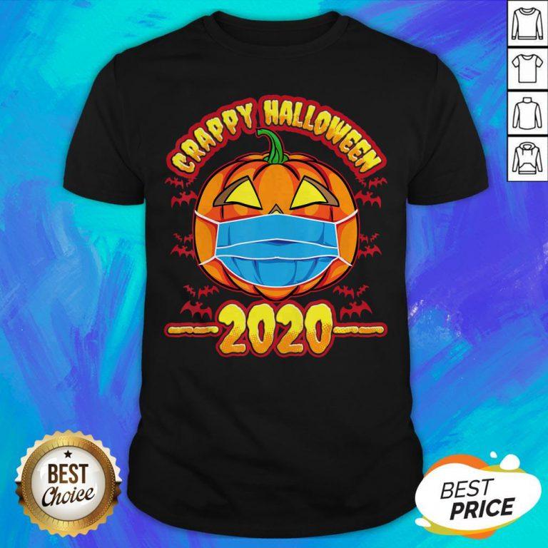 Nice Pumpkin Crappy Halloween 2020 Shirt