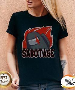 Nice Sabotage V-neck